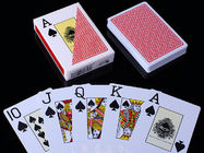 RUITEN Plastic Invisible Playing Cards / Kartu Poker Ditandai Warna Merah