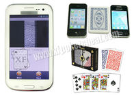 White Samsung Glaxy CVK 350 Poker Analyzer For Cheat At Texas Hold Em Poker Game