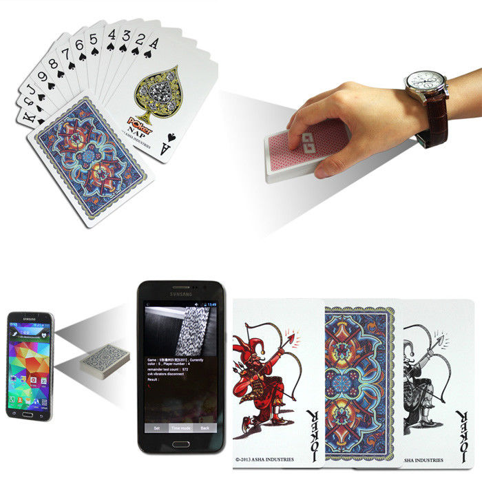 barcode Marked Poker Cards for analyer to play game in poker cheat Regular size