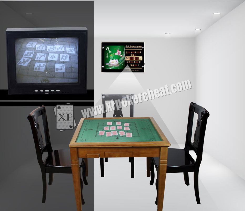 Private Poker Room Casino Cheating Devices Mini XF Electronic Calendar Camera
