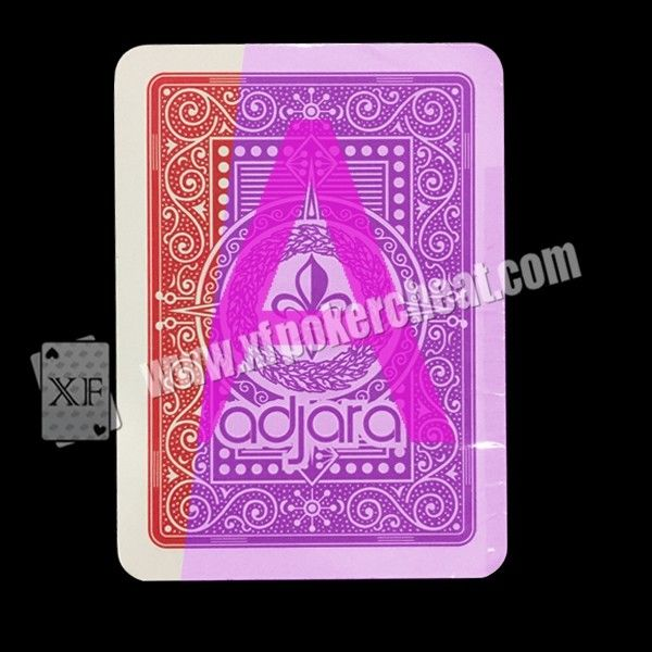 Gambling Modiano Adjara Invisible Playing Cards For Poker Cheat UV Contact Lenses