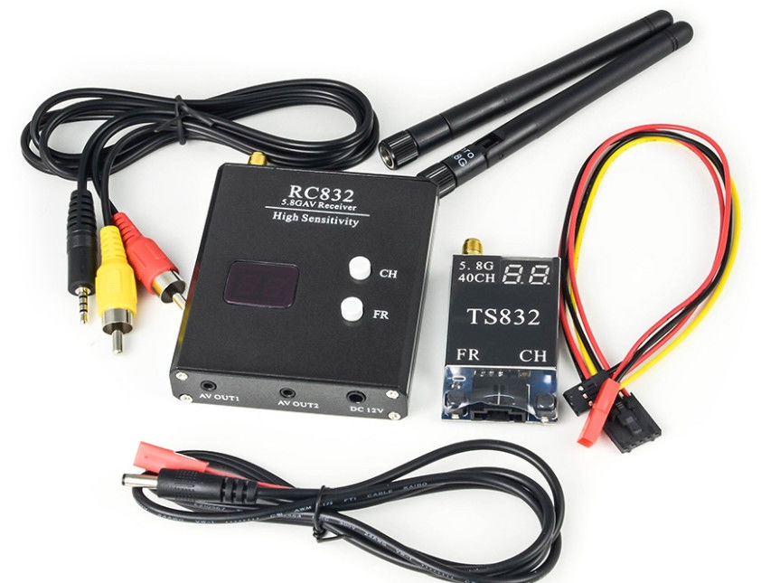 2000M Range TS832 + RC832 Gambling Accessories Audio Video Transmitter for FPV Drone