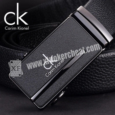 10m Transmitter Poker Scanner Phone Leather Belt For Casino Cards Cheat