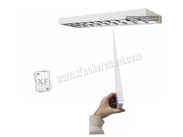 Long Grille lamp Poker Scanner With Hidden Lens For Casino Cheating Devices