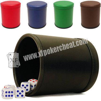 Red Casino Dice Scanner To See Through The Dice Cup / Dice Magic Device