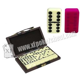 Cina Yellow Double Six Dominoes Mark For Poker cheat in cards game pabrik