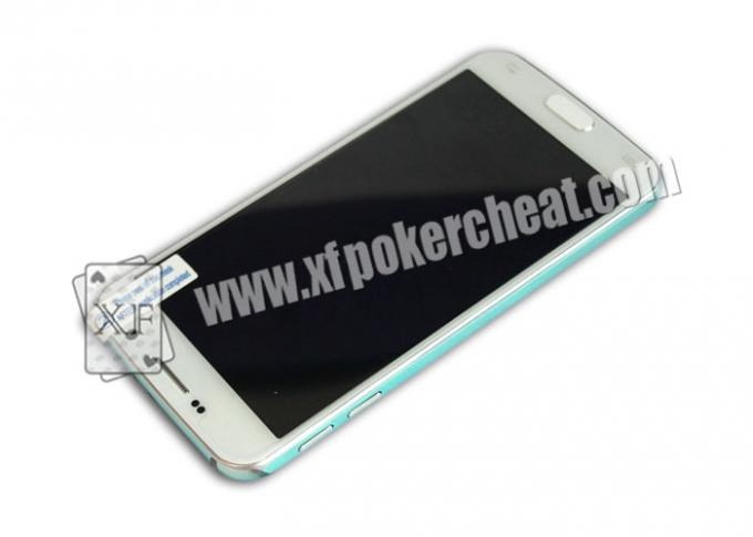 AKK50 Samsung Mobile Phone Poker Card Analyzer With Barcode Playing Cards